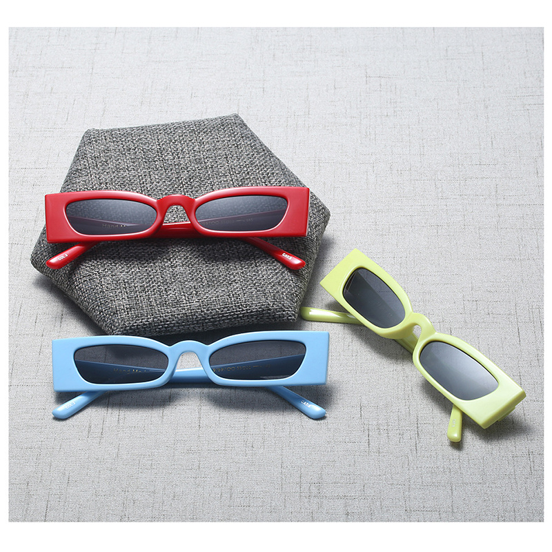 MOLNIYA New Vintage Rechteck Sonnenbrille Frauen Katzenauge Full - Bekleidungszubehör - Foto 6