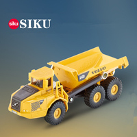 SIKU 1 87 Scale Die Cast Metal Model Simulation Toy Volvo Dumper Engineering Diecast Car For