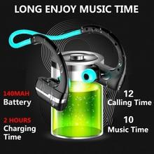 Good Quality Bluetooth Headset Wireless waterproof Sport Headphones music Earphones Fone De Ouvido with Microphone
