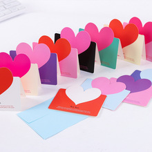 Buy general birthday cards and get free shipping on aliexpress diy handmade creative mothers day greeting cards blessing envelopes general birthday holidaythank you gift heart m4hsunfo