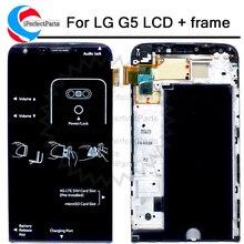 """5.3 """"Display Para LG G5 Display LCD Touch Screen Digitador Com Moldura de Substituição H850 H840 RS988 H830 H860 Para LG G5 SE LCD"""