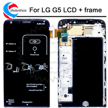 """Màn Hình Hiển Thị 5.3 """"Cho LG G5 MÀN HÌNH Hiển Thị LCD Bộ Số Hóa Màn Hình Cảm Ứng Có Khung Thay Thế H850 H840 RS988 H830 H860 Cho LG G5 SE MÀN HÌNH LCD"""