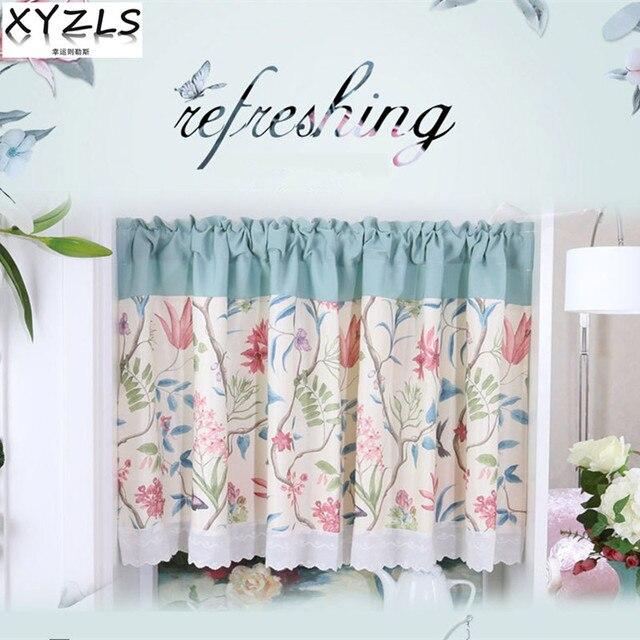 Xyzls Amerikanischen Stil Reine Blume Schmetterling Jalousien Kuche