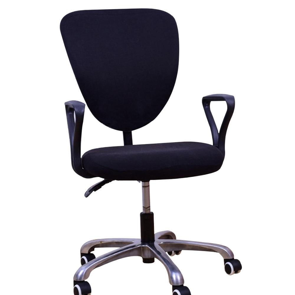 Funda de oficina para sillones y sillas giratorias para ordenador funda de  silla para silla trasera larga antisucia