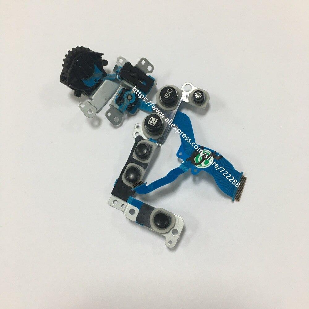 Repair Parts For Sony A77 A77V SLT A77 SLT A77V Menu Function Key Button Flex Cable