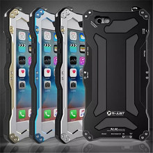 R-just For iphone6 6s case Life waterproof shockproof Metal Cover Cases For IPhone 6 6s cover protection shell tempered glass