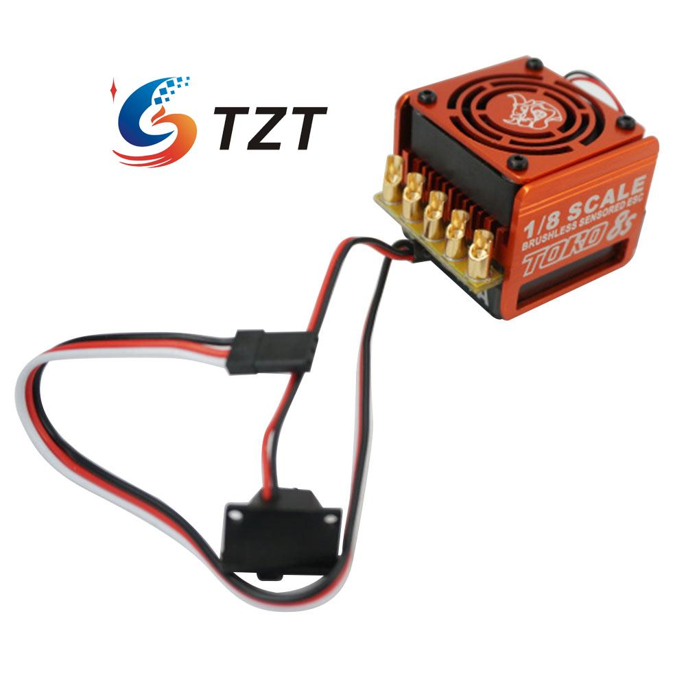 SKYRC Toro 8S 150A Brushless Sensor ESC Electronic Speed Controller for 1:8 RC Cars original skyrc toro ts 150a brushless sensor sensorless motor esc for 1 8 rc buggy truck monster truggy free s radio control