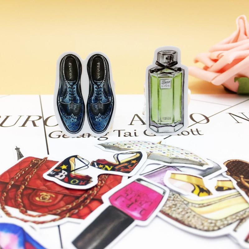 35pcs Exquisite  Self-made Perfume and luxury Scrapbooking Decorative  Sticker decoration /waterproof paper stickers35pcs Exquisite  Self-made Perfume and luxury Scrapbooking Decorative  Sticker decoration /waterproof paper stickers