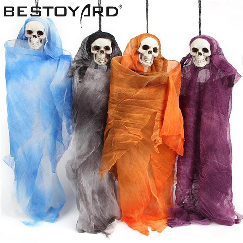 Halloween Scary Skull Doll Haunted House Spooky Creepy