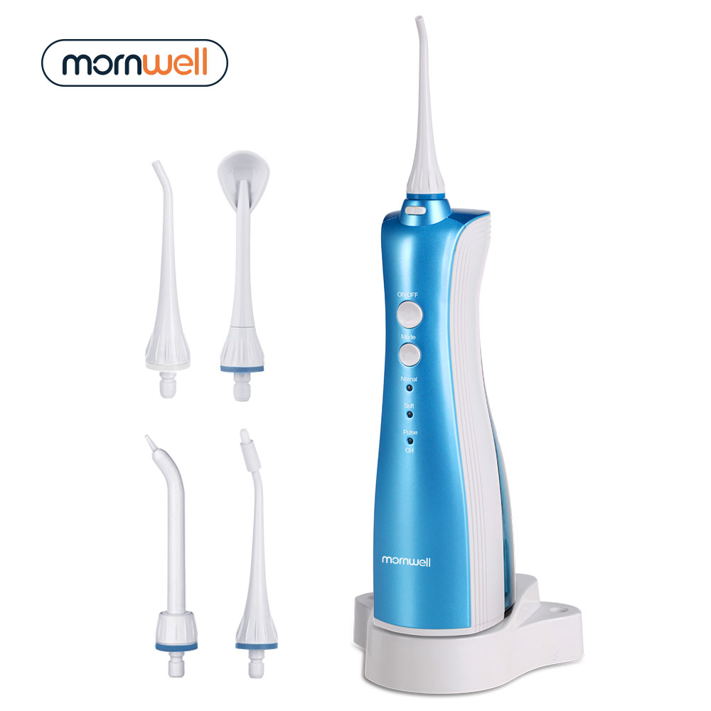 Oral Irrigator Rechargeable Water Flosser Portable Dental Water Jet Safety inductive charging irrigador dental at Home & Travel