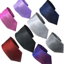 men tie set 2019 necktie slim Mens Classic Jacquard Woven Striped Necktie Formal Social casual cravate pour hommes 425
