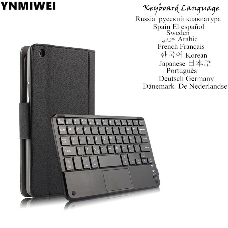 For Huawei MediaPad T3 8.0 Leather Case Wireless Bluetooth For Honor Play Pad 2 8.0 KOB-L09 KOB-W09 Keyboard Case 2015 9 k9 kob sneakerssize us7 12 kb9