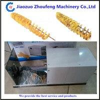 Electric stainless steel potato spiral cutting machine twist potato cutter potato spiral slicer potato machine ZF