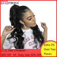 Loose Wave 360 Lace Frontal Wig Pre Plucked With Baby Hair Lace Front Human Hair Wigs For Women Brazilian Remy Lace Wig Prosa