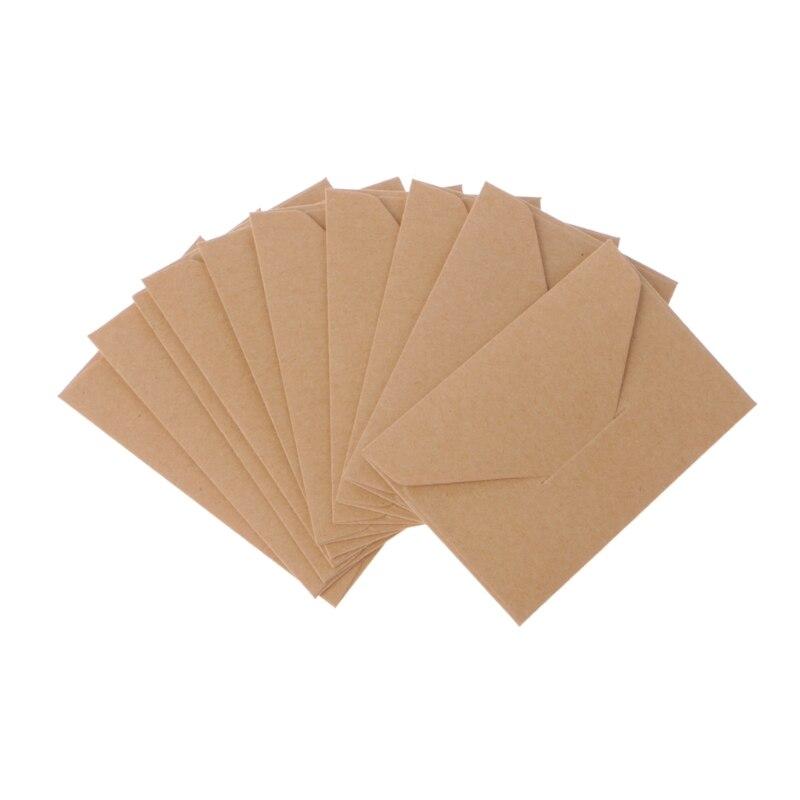 Office & School Supplies 50 Teile/los Handwerk Papier Umschläge Vintage Europäischen Stil Umschlag Für Karte Scrapbooking Geschenk Duftendes Aroma