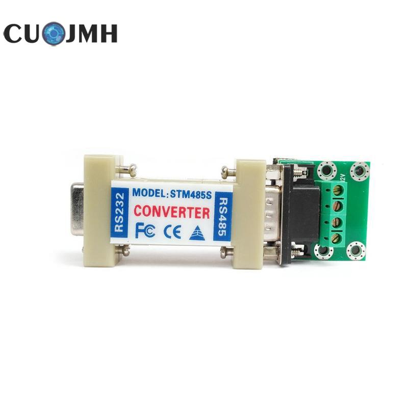1 Pcs Passive Rs232 To Rs485 Transverter Safety Protection Articles Two Way 232 To 485 Data Communication Adapter