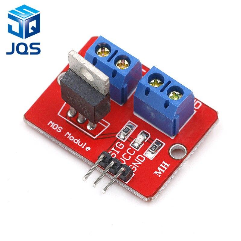 0-24V Top Mosfet Button IRF520 MOS Driver Module ForArduino MCU ARM Raspberry Pi