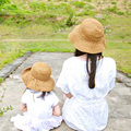 Mother And Daughter Sun Hat Girls Kids Straw Hat Baby Clothing And Accessories Kids Summer Sand Beach Newborn Photography Props