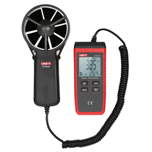 UNI-T UT363S Мини ЖК цифровой анемометр ручной измеритель скорости ветра скорость воздуха тестер температуры