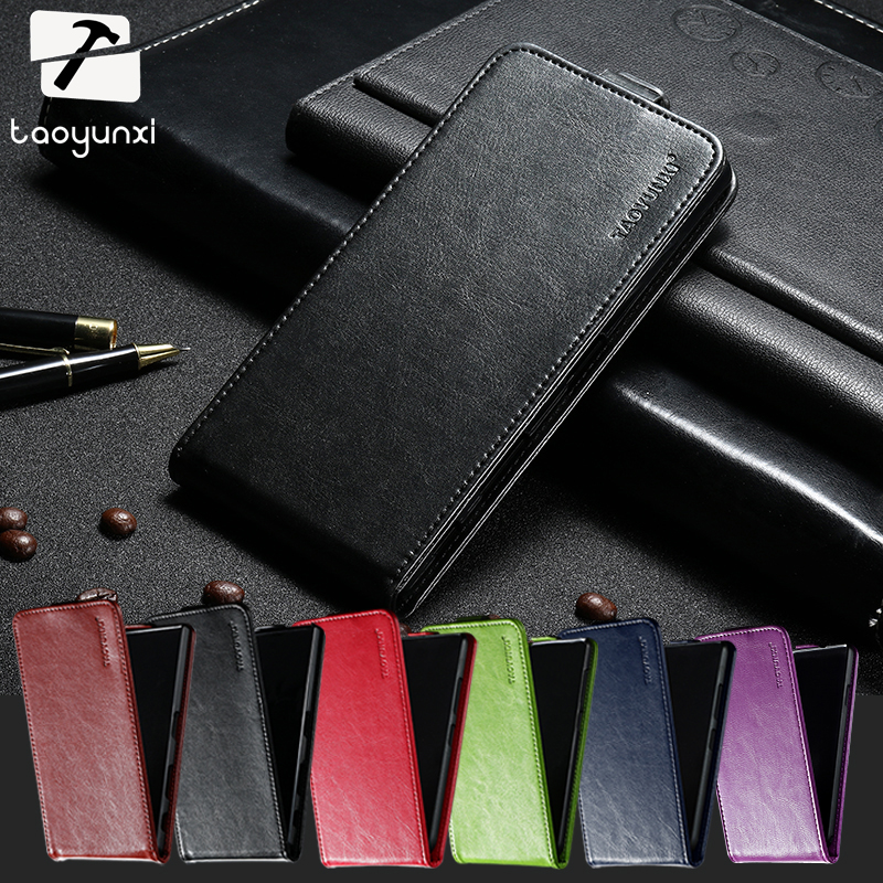 TAOYUNXI PU Leather Soft TPU Case For Philips Xenium S301 S308 4.0 INCH Cover Elegant Card Holder Housings Case