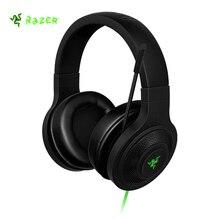 Razer Kraken casque essentiel isolation du bruit sur l'oreille casque de jeu filaire analogique 3.5mm avec micro pour PC/ordinateur portable/téléphone Gamer