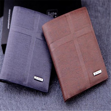 2017 Men's New Leather Fashion Wallet Business Style Wallet!Free Shipping!