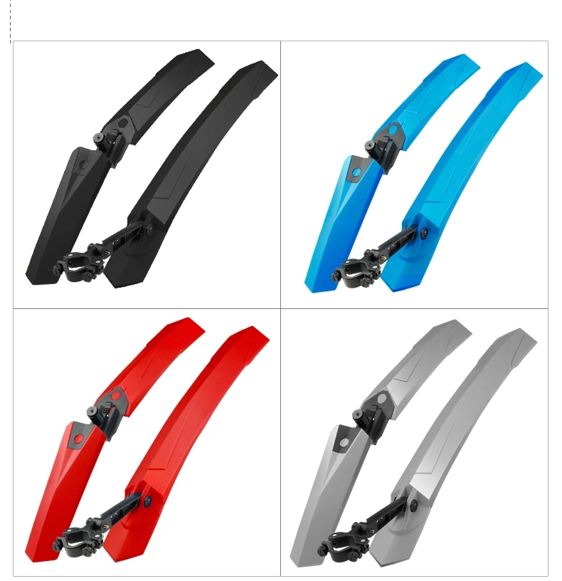 1 Pair High Quality Bike Mud Wings Front/Rear Wheel Fender Bicycle Mudguard With LED Taillight MTB Mountain 24 26 27.5 inch ^ topeak 26 27 5 29 inch mtb mudguard bicycle front rear wing for bicycle mud guard mountain bike fender