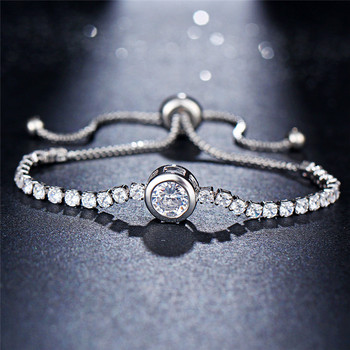 Women's Romantic Elegant Gold and Silver Bracelet Bracelets Jewelry Women Jewelry Metal Color: FCS26025