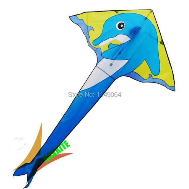 Frete grátis alta qualidade de golfinhos pipa com pipa weifang pipa voando hot venda de brinquedos para crianças hcxkite fábrica