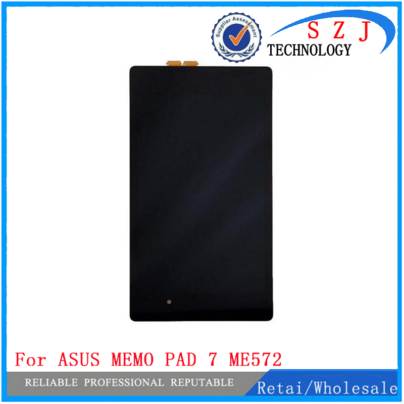 New 7'' inch for ASUS MEMO PAD 7 ME572CL ME572 LCD Display Digitizer+TOUCH SCREEN with frame Free Shipping used parts lcd display monitor touch screen panel digitizer assembly frame for asus memo pad smart me301 me301t k001 tf301t