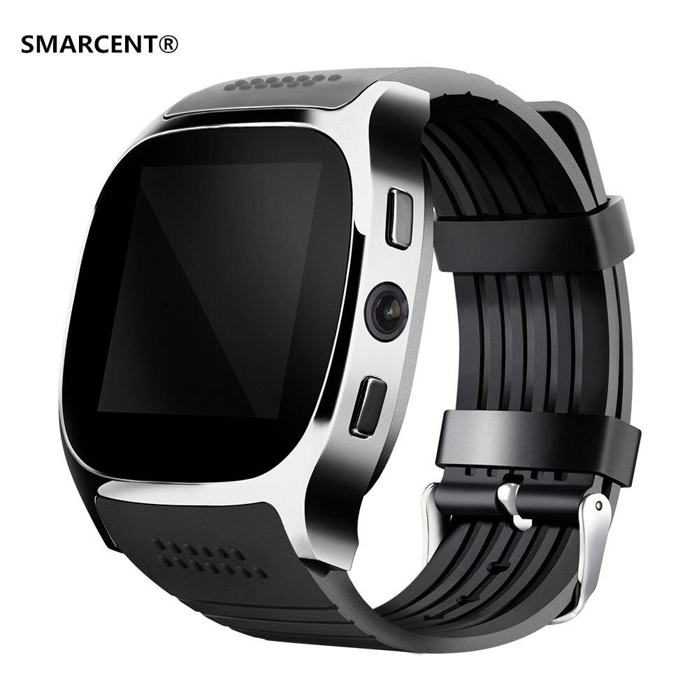 Smarcent t8 bluetooth smart watch apoyo sim y tarjeta de tf con 2.0mp cámara de