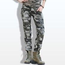 casuais fino calças camuflagem