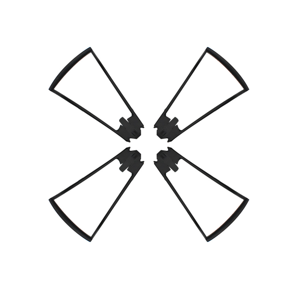 Image 2 - 2019 practical 4PC Drone Propeller Guard Protecter Ring Spare Parts For SG106 Quadcopter Drone Multifunction accessories-in Parts & Accessories from Toys & Hobbies