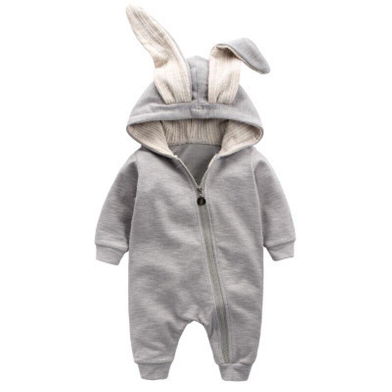Cotton Baby Girl Clothes Wiosna Baby Rompers Cute Baby Boy Odzież - Odzież dla niemowląt - Zdjęcie 2