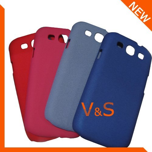 30pcs/lot Wholesale Plastic Sand hard back cover case for Samsung Galaxy S3 i9300 free shipping