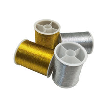 Золото/серебро 109 ярдов нитки для швейной машины полиэстер вышивка крестиком сильные нитки для швейных принадлежностей AA8509