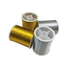 Gold/Silver 109 Yards Sewing Machine Threads Polyester Cross Stitch Strong Threads for Sewing Supplies AA8509(China)