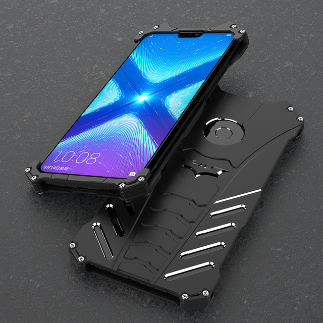official photos 5e4cf 0f8cf US $15.2 5% OFF|for huawei honor 8x metal Aluminum case For Huawei Honor 8X  Glory 8 X Honor8X Case cover Phone Bumper Armor Coque Fundas-in Fitted ...