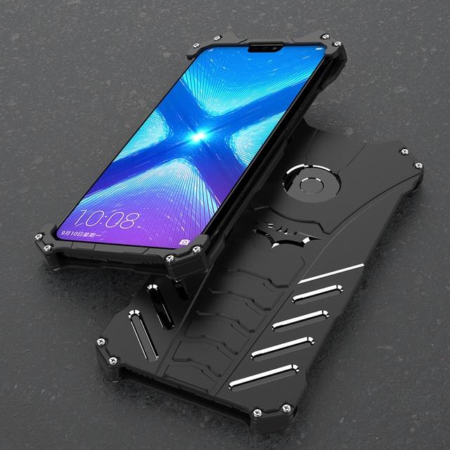 Для huawei honor 20 Pro металлический алюминиевый чехол для Huawei Honor 10 Lite Honor 30 Профессиональный откидной Чехол Обложка для телефона Бампер Защитный Coque Fundas