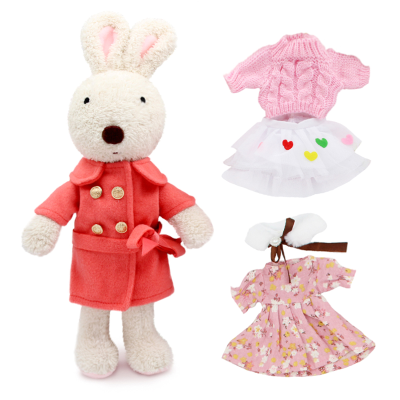 Kawaii Original le sucre bunny rabbit plush doll & stuffed brinquedos toys hobbies for children girls stuffed kids toys kawaii big stuffed & plush animals toys for children girls panda bunny dolls baby kids toys peluche brinquedos pelucia juguetes