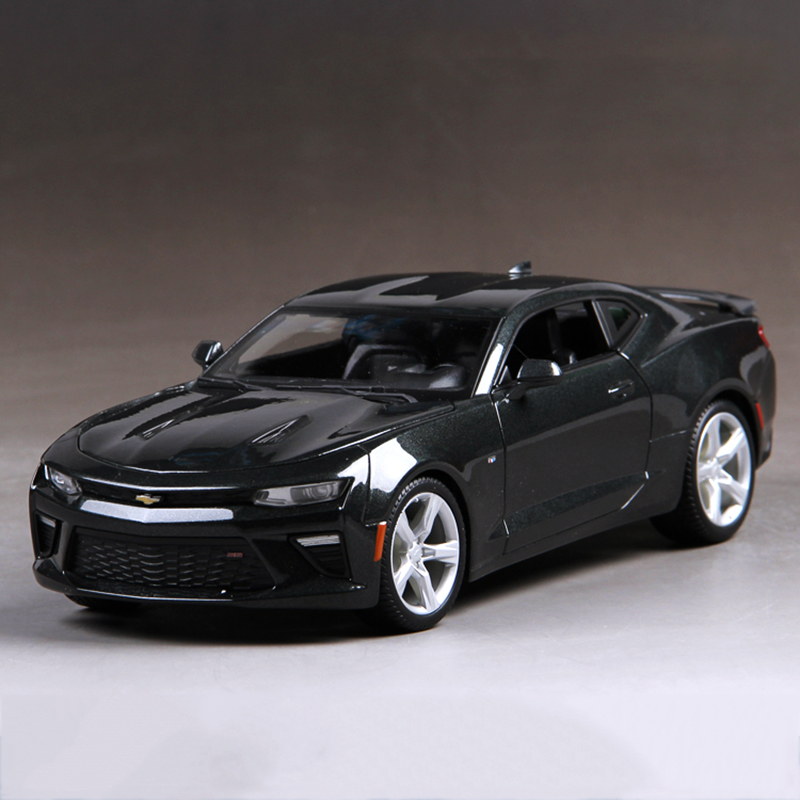 1 18 diecast car camaro 2016 black 1 18 diecast car metal racing vehicle play collectible models. Black Bedroom Furniture Sets. Home Design Ideas