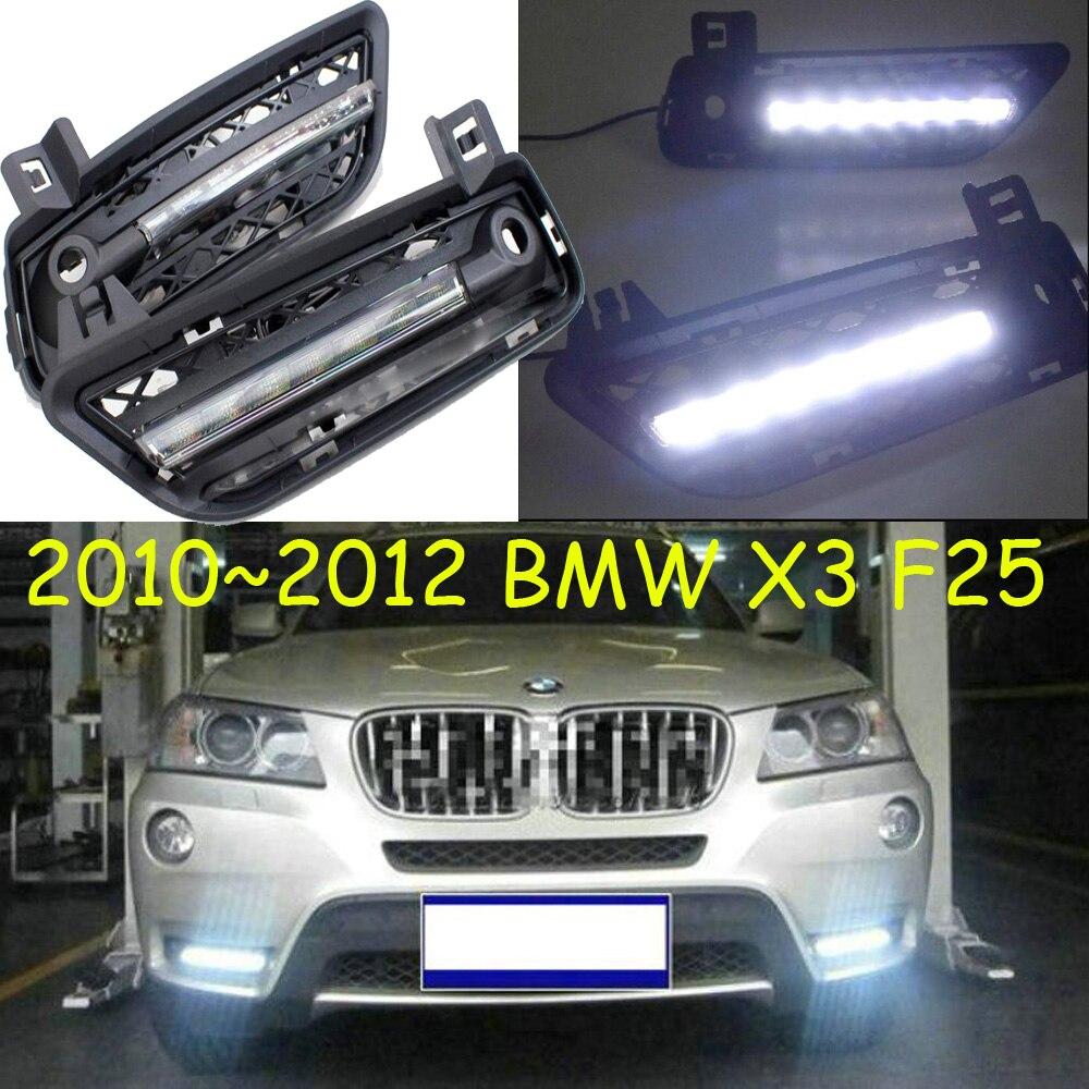 X3 F25 daytime light;2011~2014, Free ship!LED,X3 fog light,2ps/set;X3 F25 golf 3 td 2011
