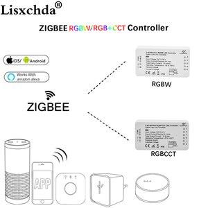 Image 1 - Gledopto zigbee bridge app led 컨트롤러 rgbw 디머 스트립 컨트롤러 dc12/24 v led 에코 zll 표준 led와 호환 가능
