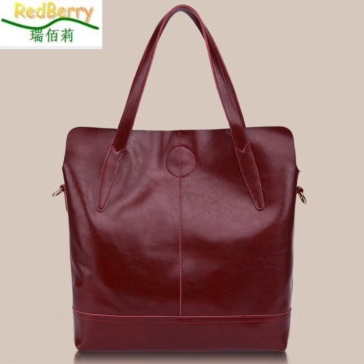 New Arrival Genuine Leather Bag Fashion Women Handbag Shoulder Bag Vintage Crossbldy Tote Design Messenger Soft Top-Handle Bag