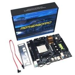 Profesjonalna płyta główna komputera stacjonarnego C61 dla AM2 dla procesora AM3 DDR2 + płyta główna pamięci DDR3 z 4 portami SATA2