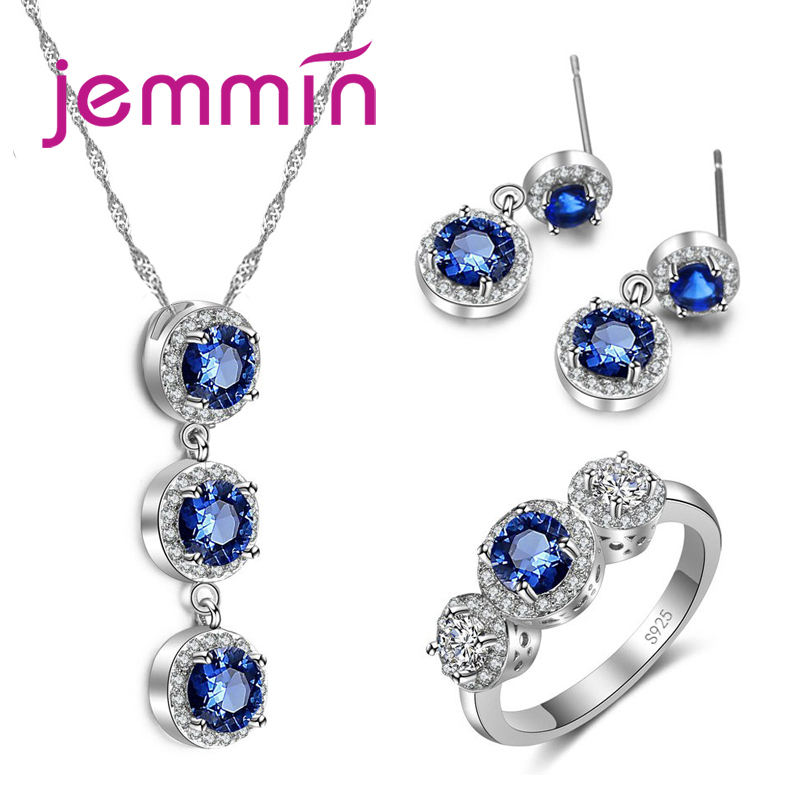 Big Promotion! Exquisite Fashion Beautiful Jewelry Sets With Top Quality Cubic Zircon for Women Precious Gift(China)