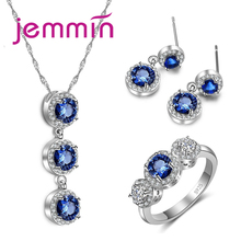 Big Promotion! Exquisite Fashion Beautiful Jewelry Sets With Top Quality Cubic Zircon for Women Precious Gift