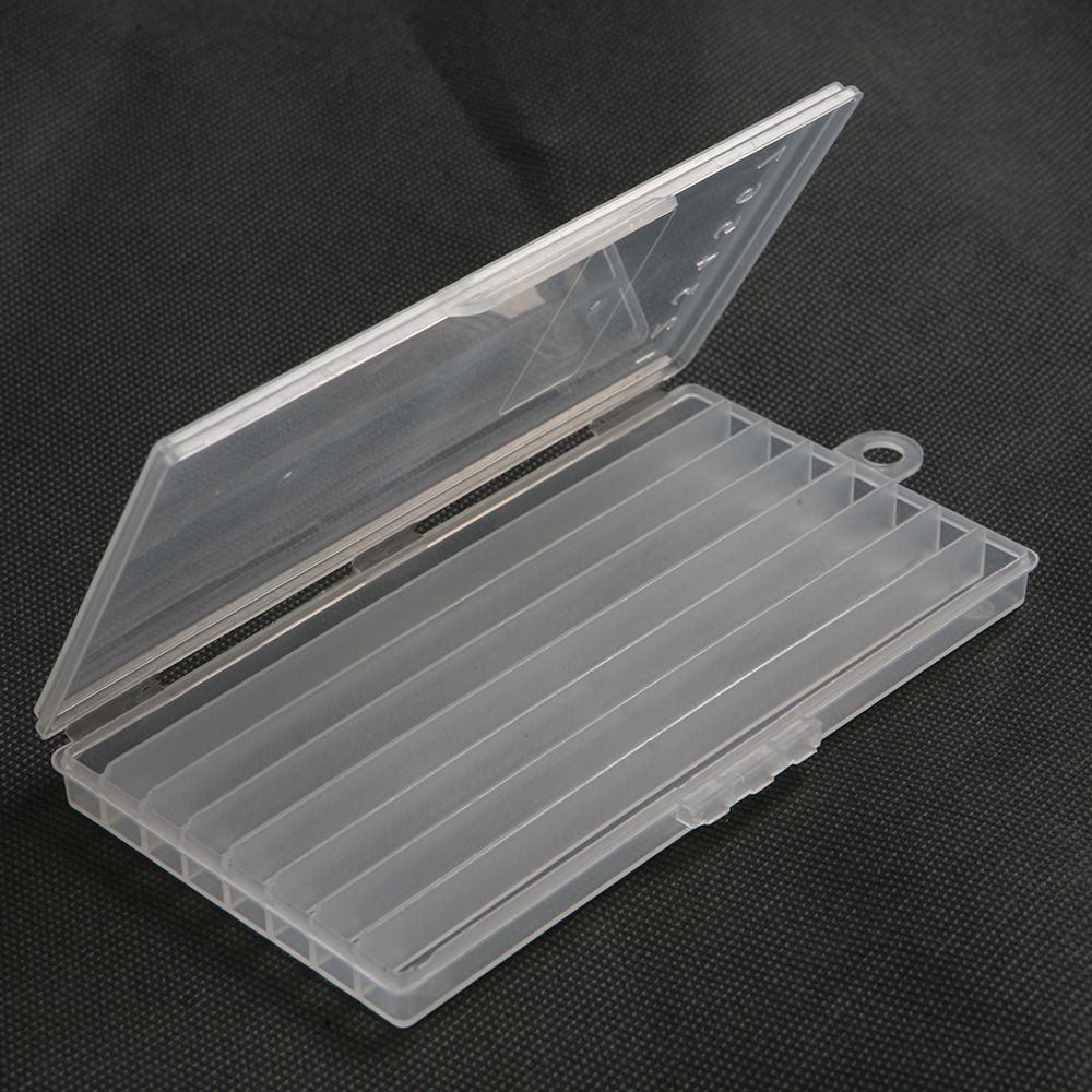 1 Case 8 Grid Semitransparent Storage Box For Sewing Blade Storage Tools Case