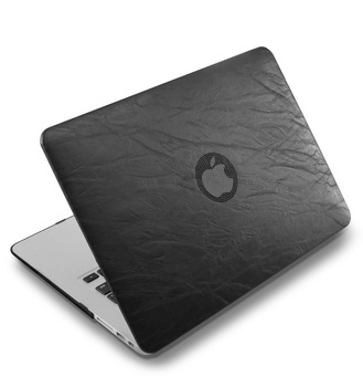 PU leather Hard Case for MacBook 4