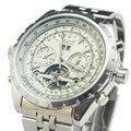 Reloj Hombre JARAGAR Мода Часы Мужские День Маховик Авто Механические Стелл Наручные Часы Подарочная Коробка Подарка Свободный Корабль